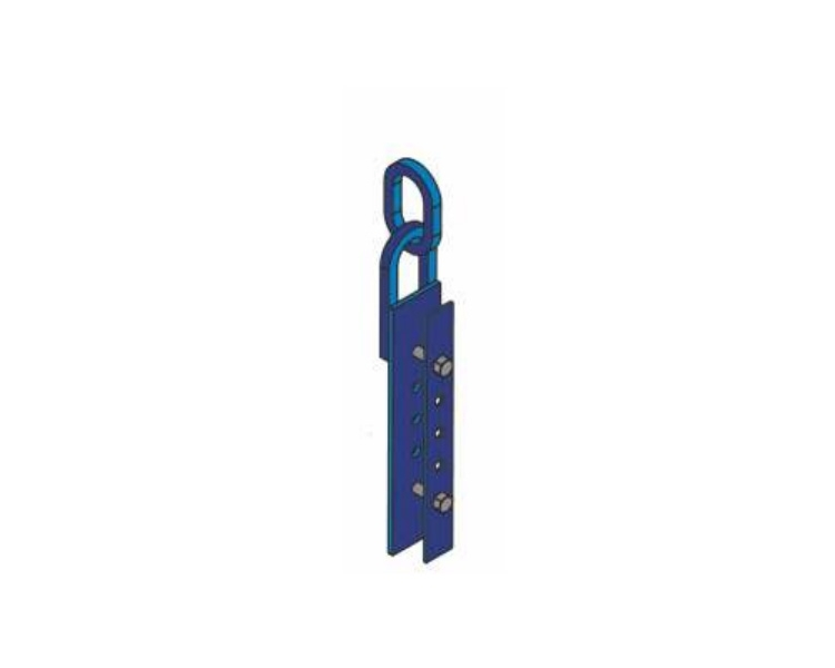 Crane hinge for beam-and-beam formwork VIRASTAR