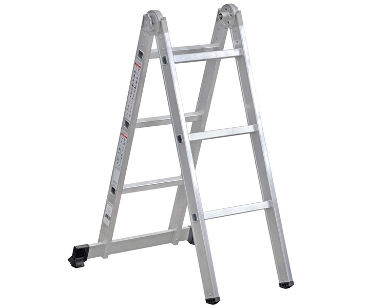 Hinged two-section ladder VIRASTAR