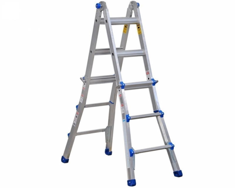 Hinged telescopic ladder VIRASTAR