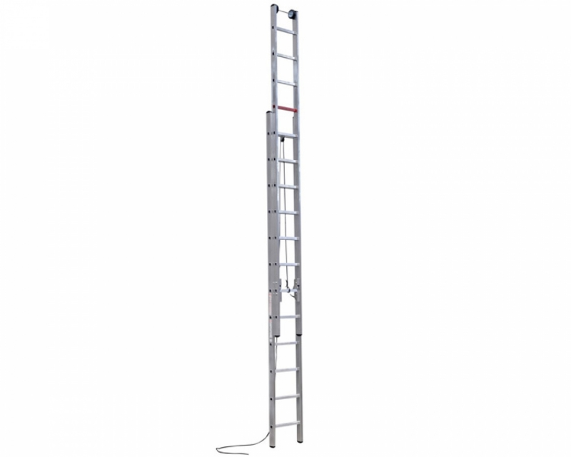 Two-section ladder extended by a cable VIRASTAR