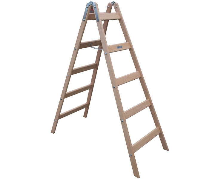 Wooden construction stepladders-stilts VIRASTAR STEPPER