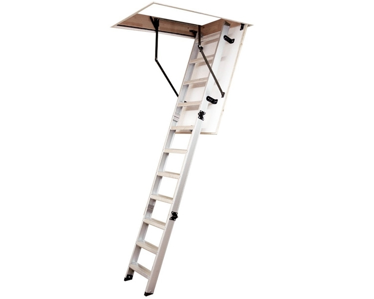 Aluminum folding attic stairs VIRASTAR