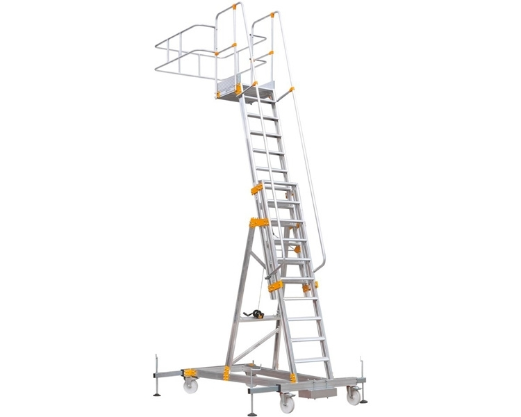 Ladder for tanker VIRASTAR